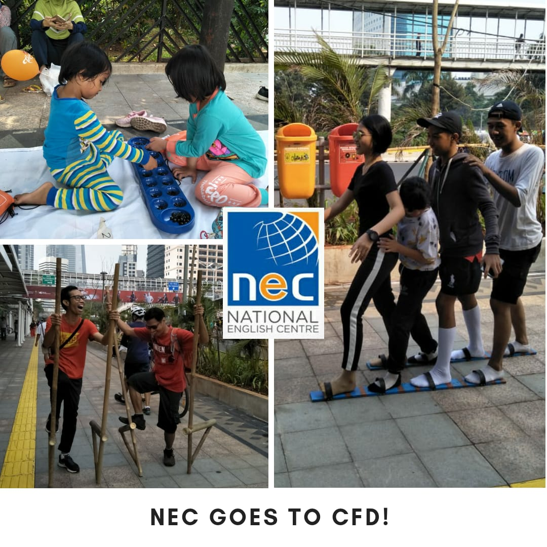 National English Centre Goes to CFD Sudirman