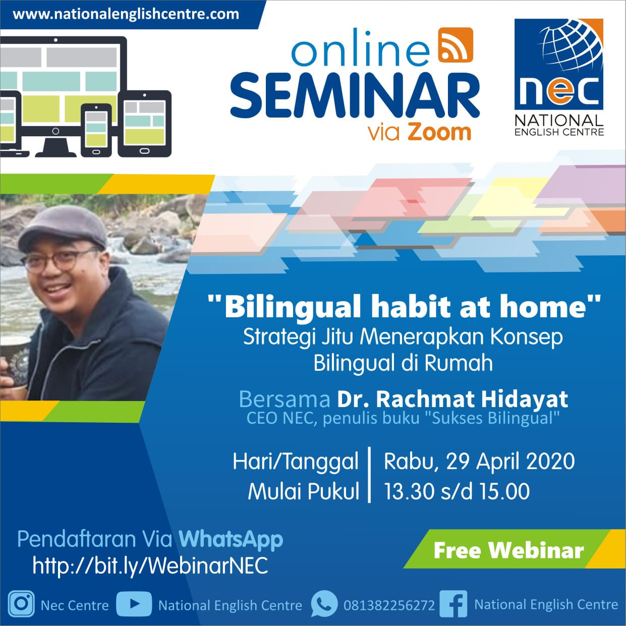 Seminar Online: BILINGUAL HABIT AT HOME