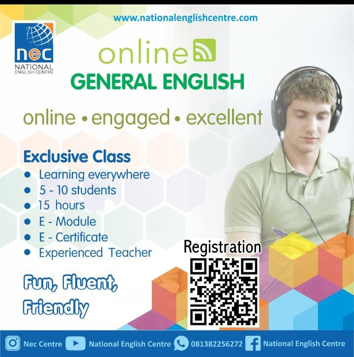 General English Online Class
